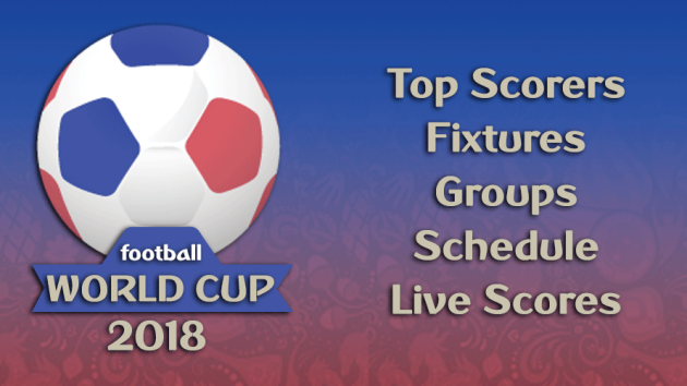 World Cup 2018 – Live Scores, Fixtures & Results